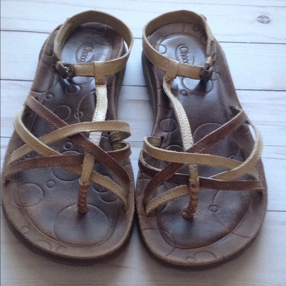 b77f9792c84c Chaco Shoes - Chaco native ecotread. leather ankle strap sandals